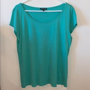 Eileen Fisher Silk Blouse Size XL